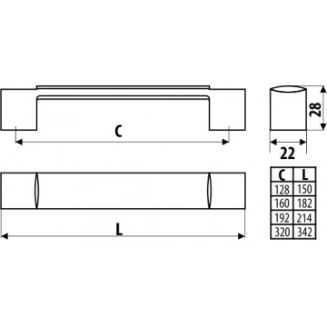 Kuchyňa LINDA 330cm - EUROSPAN